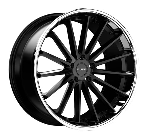 Ruff Wheels R03 Black