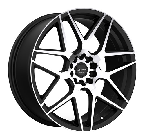 Ruff Wheels R351 Black