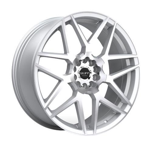 Ruff Wheels R351 Silver