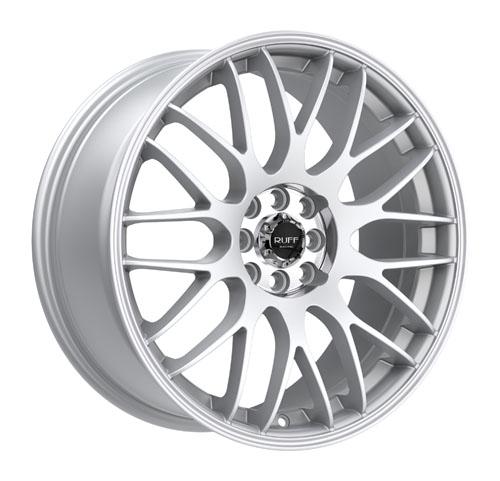 Ruff Wheels R355 Silver