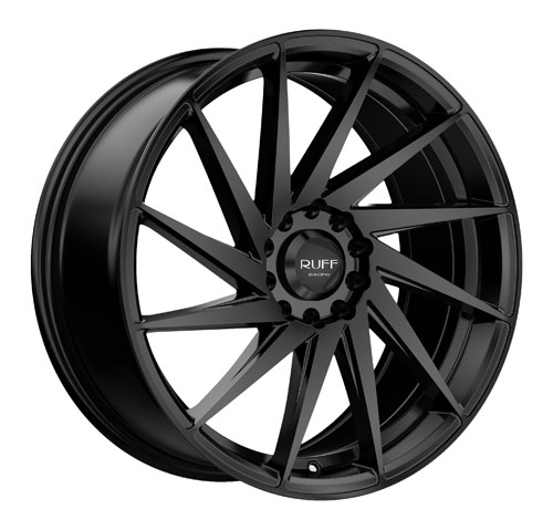 Ruff Wheels 363 Black