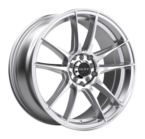 Ruff Wheels 364 Silver