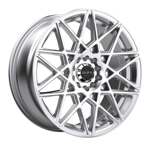 Ruff Wheels 365 Silver