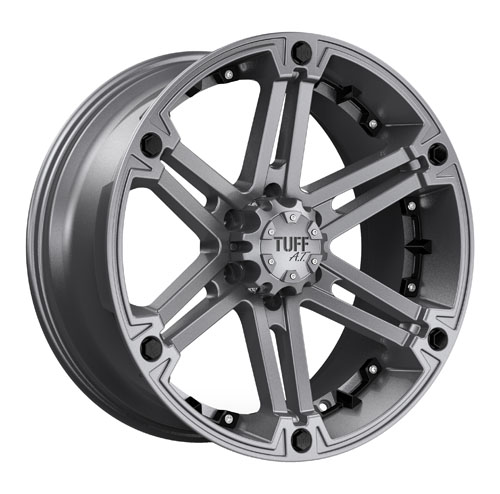 Tuff A.T (All-Terrain) Wheels T01 Gunmetal