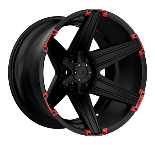 Tuff A.T (All-Terrain) Wheels T12 Black