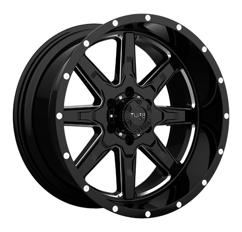 Tuff A.T (All-Terrain) Wheels T15 Black