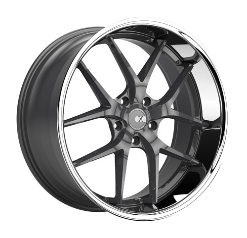 XO Luxury Wheels Athens Gunmetal