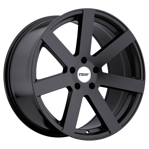 TSW Wheels Bardo Black