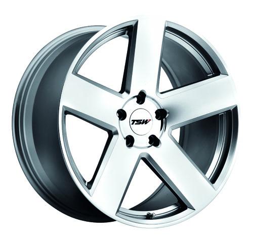 TSW Wheels Bristol Silver