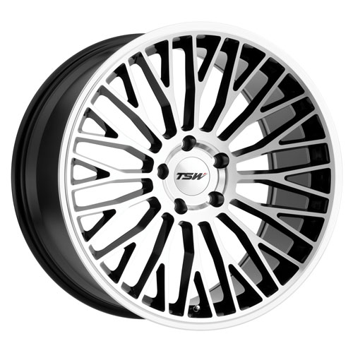 TSW Wheels Casino Black