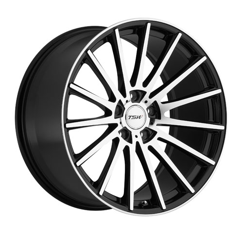 TSW Wheels Chicane Black