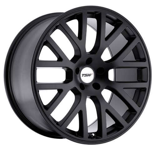 TSW Wheels Donington Black
