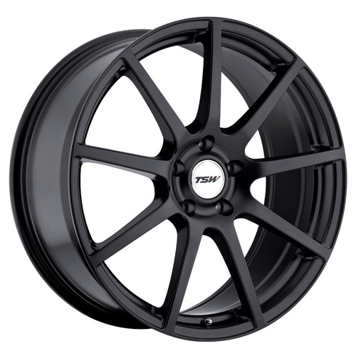 TSW Wheels Interlagos Black