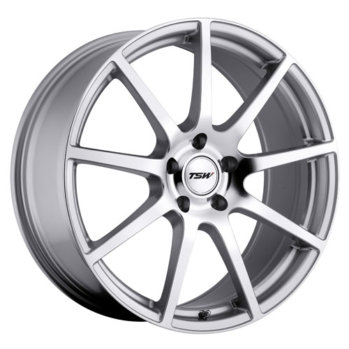 TSW Wheels Interlagos Silver