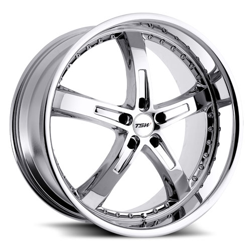 TSW Wheels Jarama Chrome