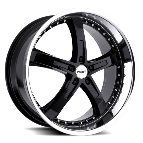 TSW Wheels Jarama Black