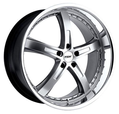 TSW Wheels Jarama Silver