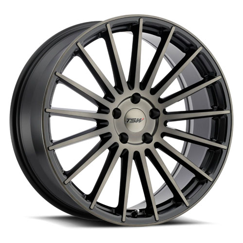 TSW Wheels Luco Black