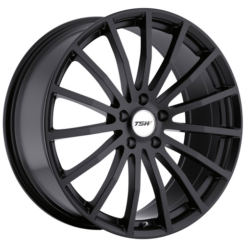 TSW Wheels Mallory Black