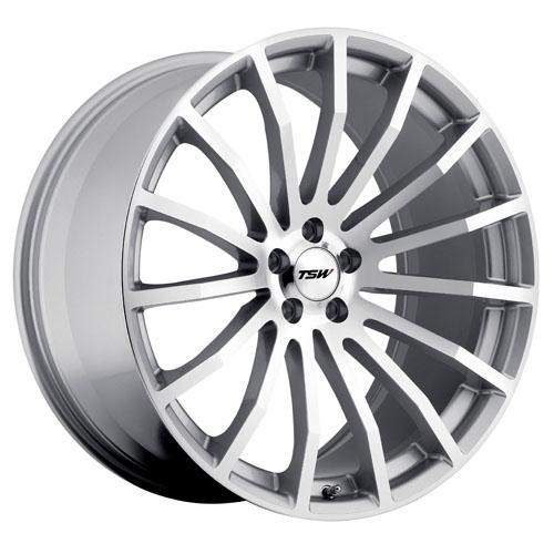 TSW Wheels Mallory Silver