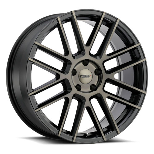TSW Wheels Mosport Black