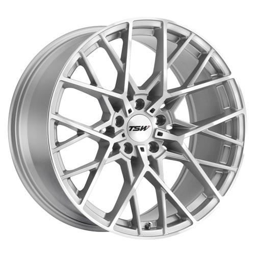 TSW Wheels Sebring Silver