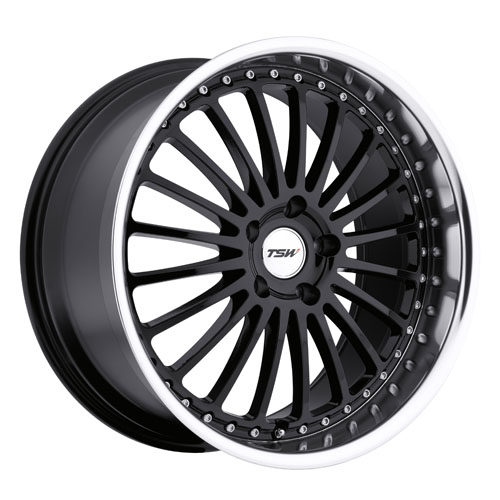 TSW Wheels Silverstone Black