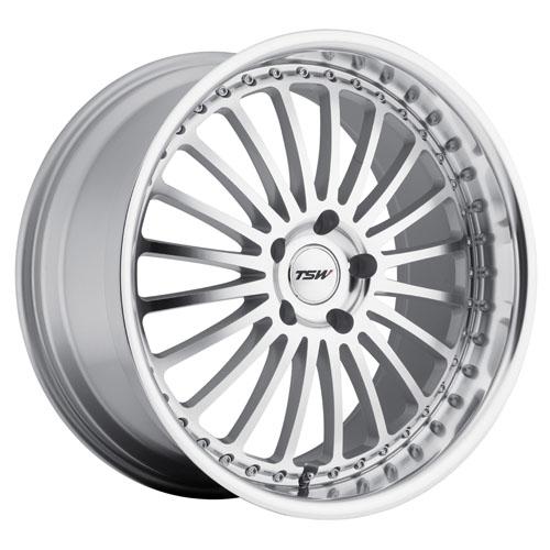 TSW Wheels Silverstone Silver