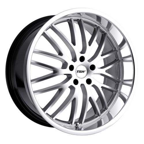 TSW Wheels Snetterton Silver