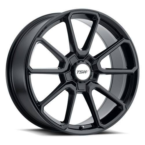 TSW Wheels Sonoma Black
