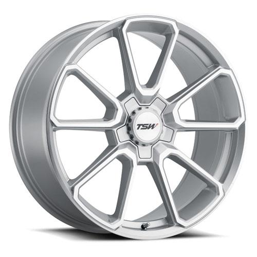 TSW Wheels Sonoma Silver