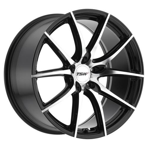 TSW Wheels Sprint Black