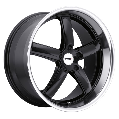 TSW Wheels Stowe Black