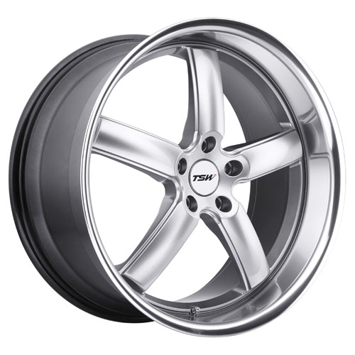 TSW Wheels Stowe Silver