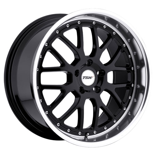 TSW Wheels Valencia Black