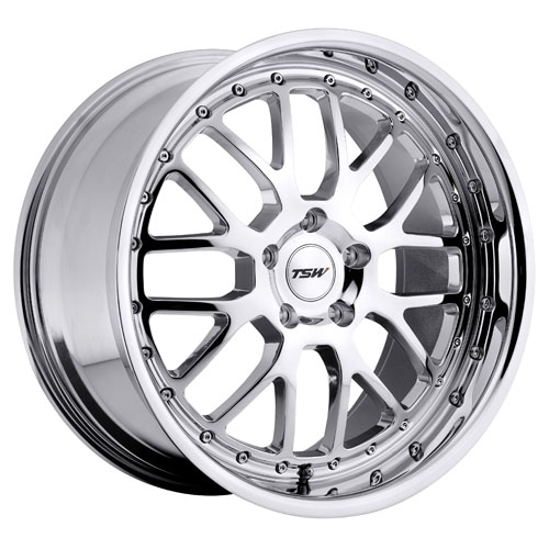 17x8 TSW Wheels Valencia Chrome