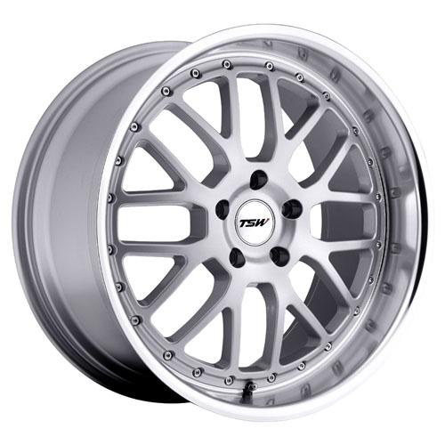 TSW Wheels Valencia Silver