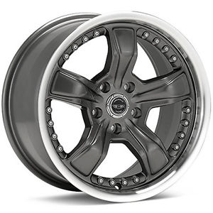- Wheel Specials - American Racing Wheels AR198 Gunmetal/Mach