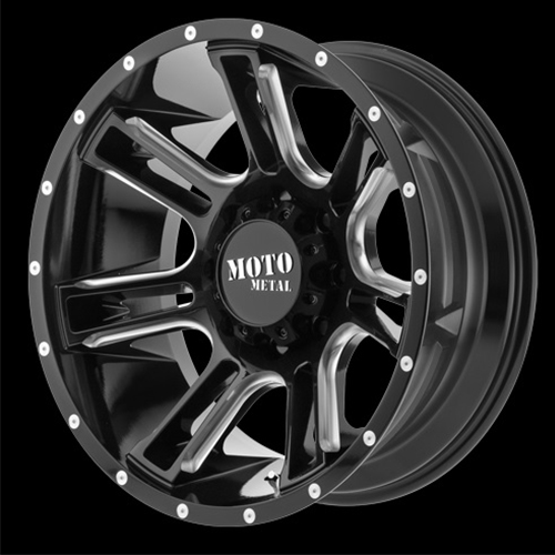 Moto Metal Offroad Wheels  Amp Gloss Black Milled
