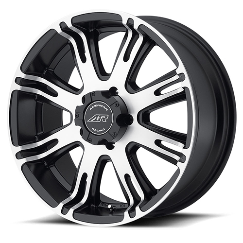 American Racing Wheels AR708 Matte Black Machined