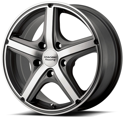 American Racing Wheels AR883  Maverick Anthracite Machined