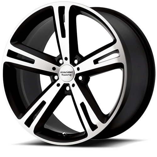 American Racing Wheels AR885  Villain Matte Black