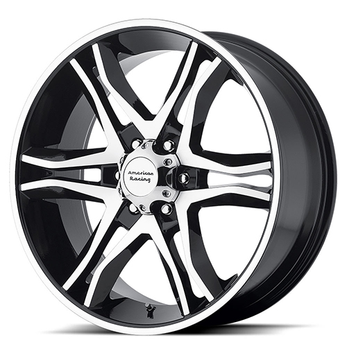 American Racing Wheels AR893  Mainline Gloss Black Machined