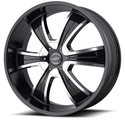 American Racing Wheels AR894 Gloss Black Machined