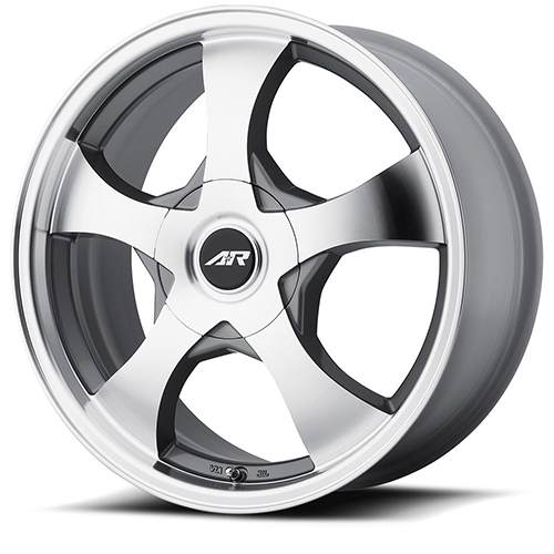 American Racing Wheels AR895 Dark Silver Machined