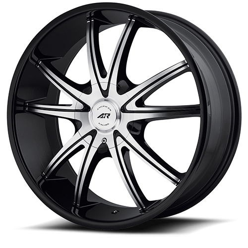 American Racing Wheels AR897 Gloss Black Machined