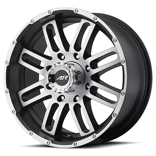 American Racing Wheels AR901 Satin Black Machined