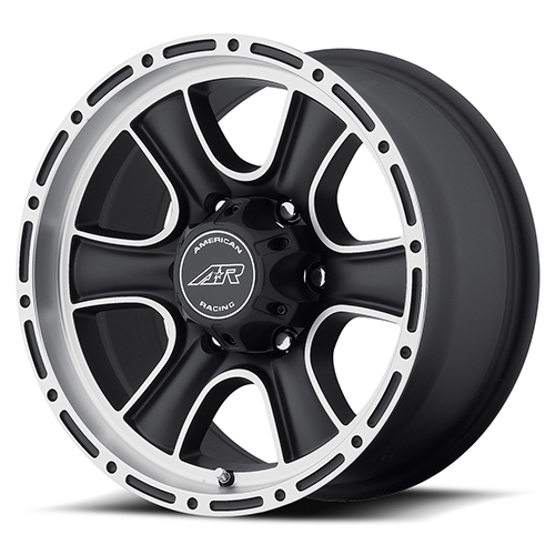 American Racing Wheels AR902 Satin Black Machined