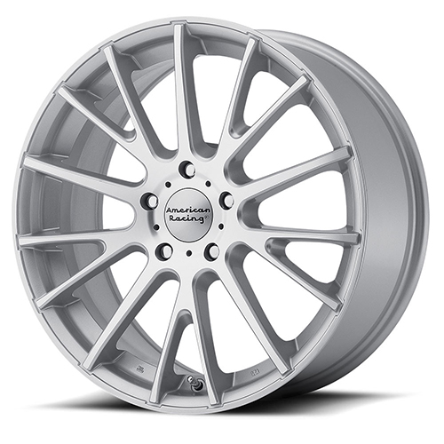 American Racing Wheels AR904 Bright Silver With Machined Face