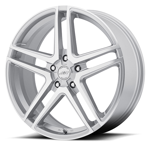 American Racing Wheels AR907 Bright Silver With Machined Face
